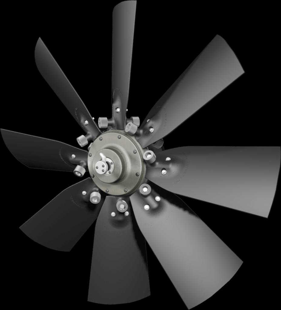 flexxaire kääntyvä tuuletin series 2000