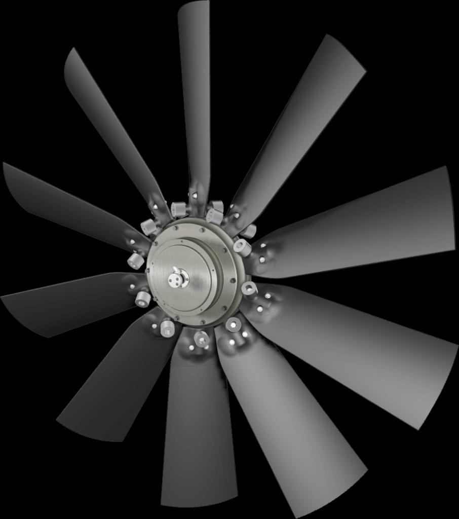 flexxaire kääntyvä tuuletin series 3000