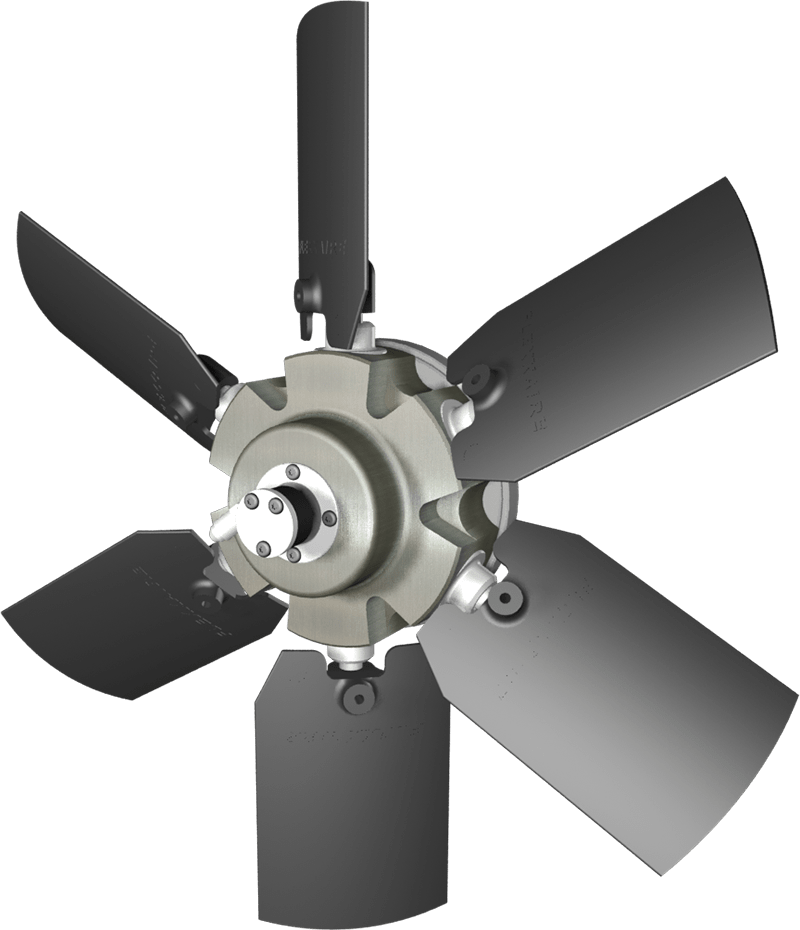 flexxaire kääntyvä tuuletin series 500