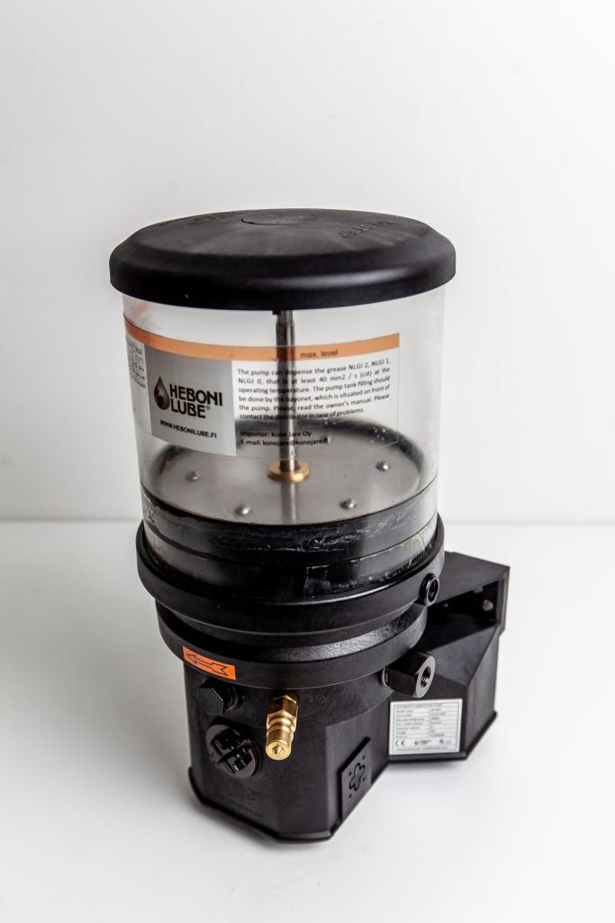 hebonilube keskusvoitelu säiliö 4L 12V 24V 230V